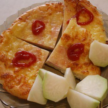 Mini pizza syrová