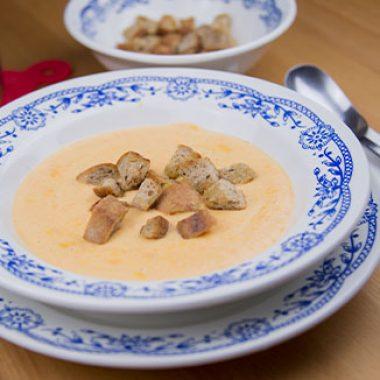Zázvorová zimná polievka