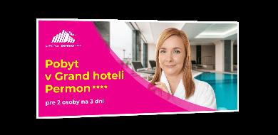 5x Relaxačný pobyt v Grand hoteli PERMON****
